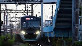 東急田園都市線2020系2129F急行久喜行き堀切駅通過