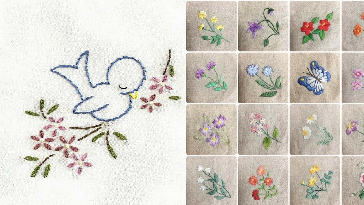 Hand Embroidery Designs For Baby And Kids Dress Youtube