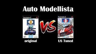 Auto Modellista : Original vs US Tuned