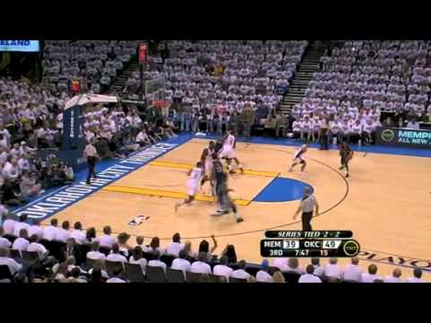 NBA Playoffs 2011: Memphis Grizzlies Vs OKC Thunder Game 5 Highlights (2-3)