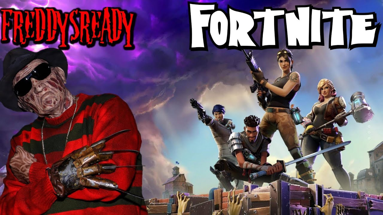 overkill s the walking dead closed beta freddy krueger cosplay youtube gaming - freddy krueger fortnite