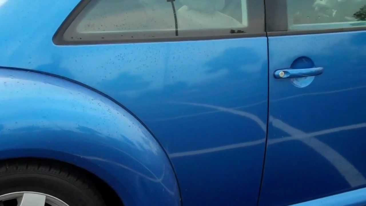 1998 VW Beetle Blue For Sale Craigslist G&C Tire and Auto ...