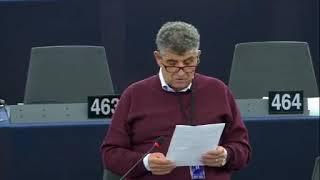 Intervento in aula di Pietro Bartolo sulla ricerca e il soccorso nel Mediterraneo