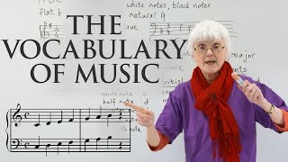 Learn The Vocabulary Of Music