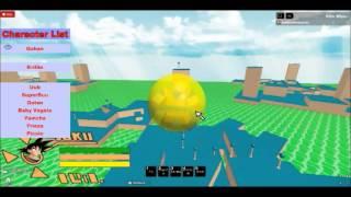 Roblox dragon ball GT! Updated