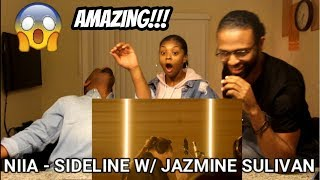Niia – Sideline [Live With Jazmine Sullivan] (REACTION)