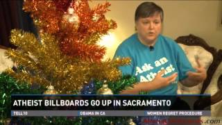 Atheist Billboards - Sacramento, CA - Freedom From Religion Foundation (FFRF) - Local news