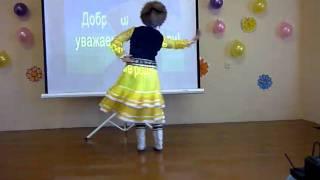Народный башкирский танец в школе № 10.(В субботу 19 февраля 2011 года с 12.00 до 13.30 проходило родительское собрание в средней школе № 10. Школьники подар..., 2011-02-26T08:17:07.000Z)