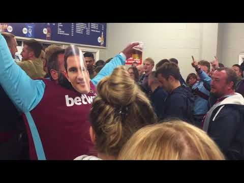 ''Big Fat Frank'' song with Lampard impersonator at West Brom Away