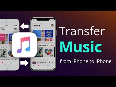 AnyTrans - How to transfer music from iPhone to iPhone 7/8/X directly