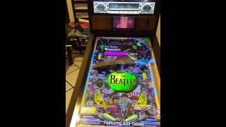 Virtual pinball table with 3 monitor setup