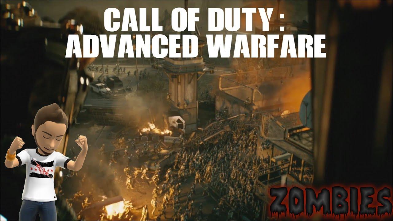 call of duty advanced warfare zombies exosurvival