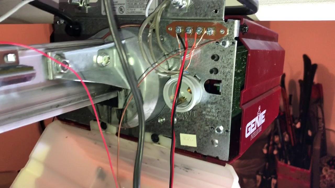 Sonoff TASMOTA garage remote limit switch hack