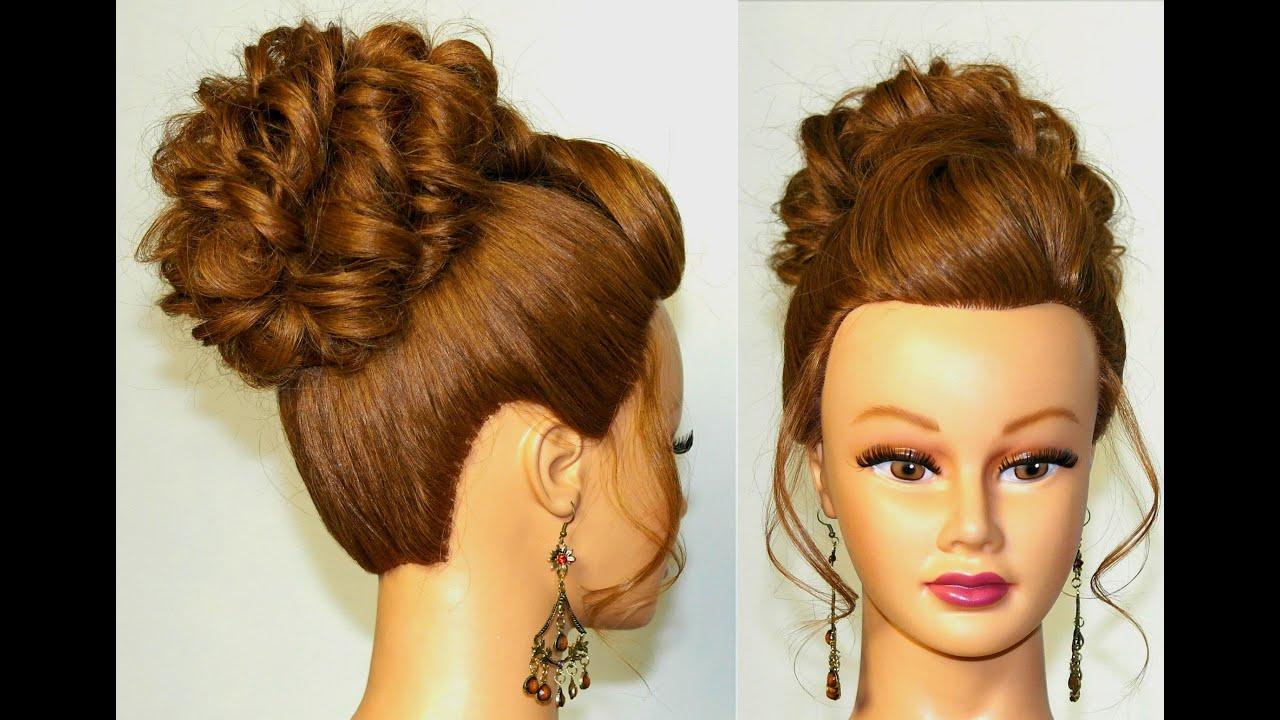Прическа гулька на длинные и средние волосы - Твои локоны 62