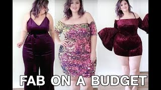 PLUS SIZE FASHION TRY ON HAUL | F21 Budget Extravaganza to do the MOST at Christmas | Sometimes Glam
