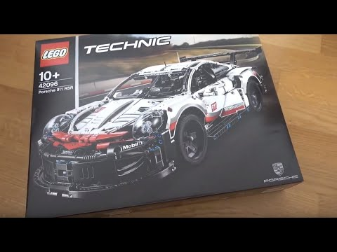 unboxing lego technic porsche 911 rsr 2019 youtube. Black Bedroom Furniture Sets. Home Design Ideas