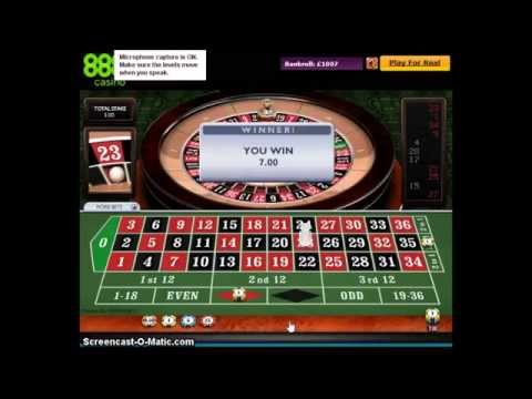 ROULETTE STRATEGIES Winning Strategy Video Example Crusader or George Cross Method BIG PROFITS Accum