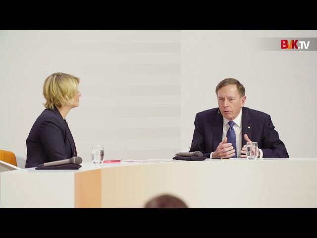 20. Deutscher Eigenkapitaltag: General David H. Petraeus im Powertalk