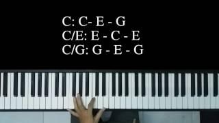 Hướng dẫn hợp âm đảo Piano - cách bấm hợp âm đảo Piano