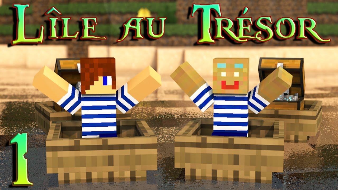 Lle au Trsor  Bonchour Maribri  01  Minecraft  YouTube
