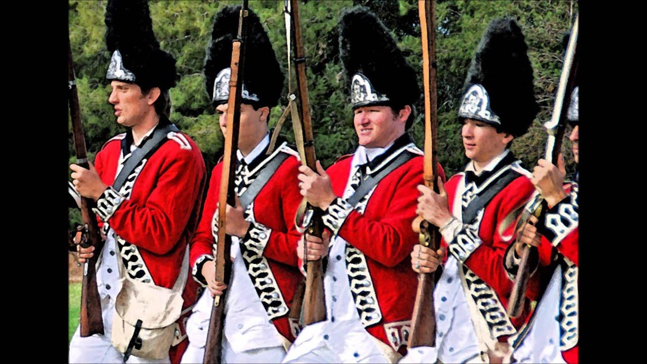 Revolutionary War Reenacting in Arizona - Great Britain