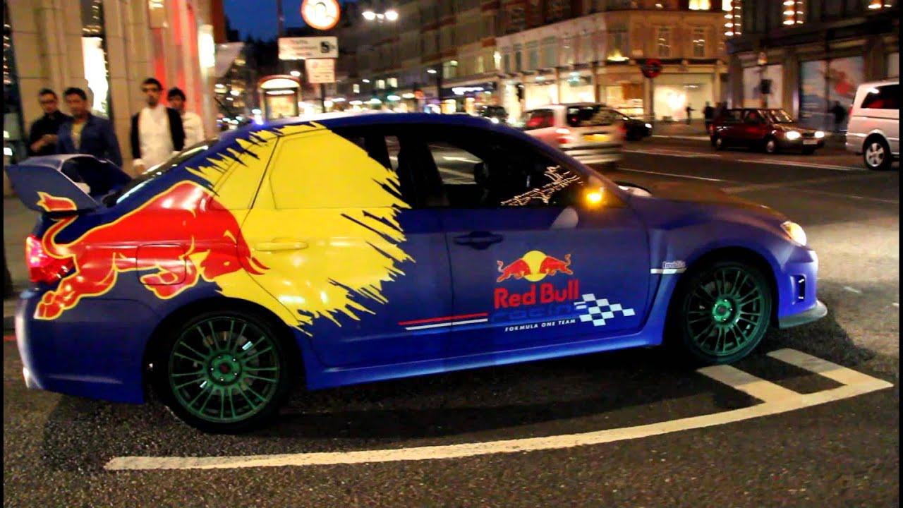 subaru bull wrap wrx sti london supercars awesome