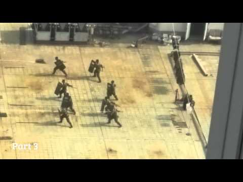 Secret China Riot Police Training Exercises (Complete)