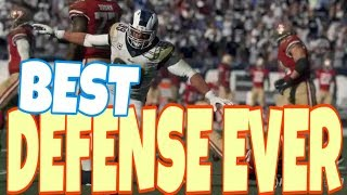 MUST WATCH! THE NEW META BLITZ DEFENSE TAKING OVER MADDEN 19! MUT ULTIMATE TEAM SUPER BOWL GAMEPLAY
