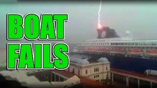 Scary and Funny Boat Fails getting you through the week