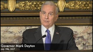 Gov. Dayton On Justine Damond Shooting - Full Q & A