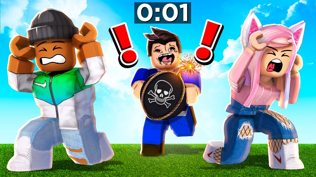 Download Roblox PASS The BOMB or YOU BLOW UP!!
