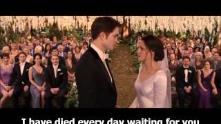 #09 christina perri - a thousand years(casamento de bella swan) -- aprenda ingles com musica (720p)