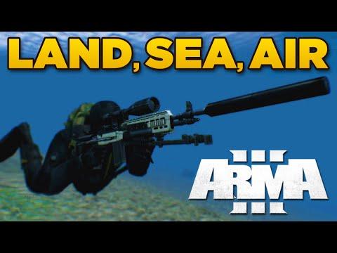 ZEUS - LAND, SEA, AIR | ARMA 3 [ARES, Blastcore Phoenix, JSRS Dragonfyre]