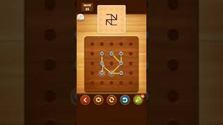 Line Puzzle String Art Acacia Level 25 Solution