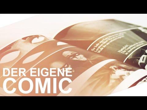 Comic zeichnen/ drucken – Tutorial | Deutsch