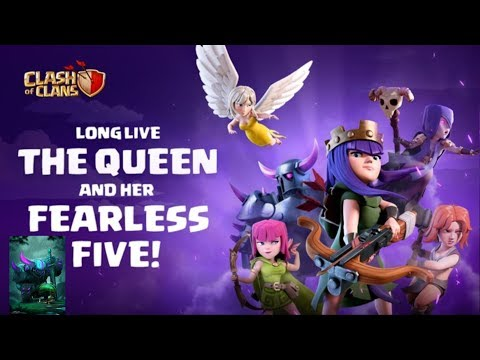 LonG-LivE ThE QueeN & HeR Fearless FivE! ClasH Of ClanS