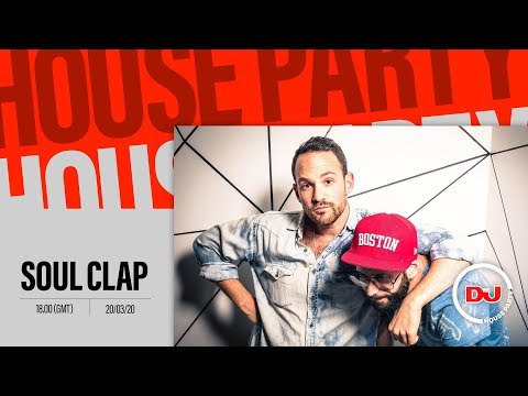 House Party: Soul Clap Live DJ Set From Their Home Pool Party
