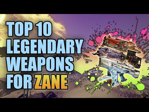 Borderlands 3   Top 10 Legendary Weapons for Zane (Updated)  Best Guns for Zane the Operative
