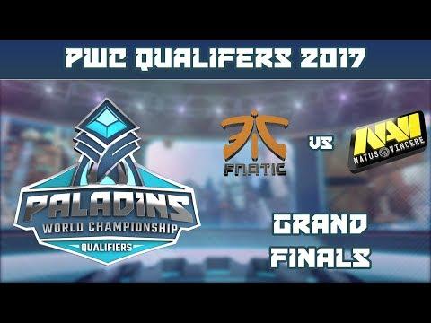 PWC Qualifiers: Grand Finals - FNATIC vs. Natus Vincere