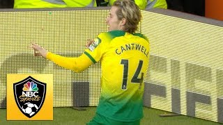 Todd Cantwell Gets Norwich City Ahead 2 1 V. Arsenal | Premier League | Nbc Sports