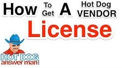 Getting A Hot Dog Vendor Permit / License  -  Saved My Life 002