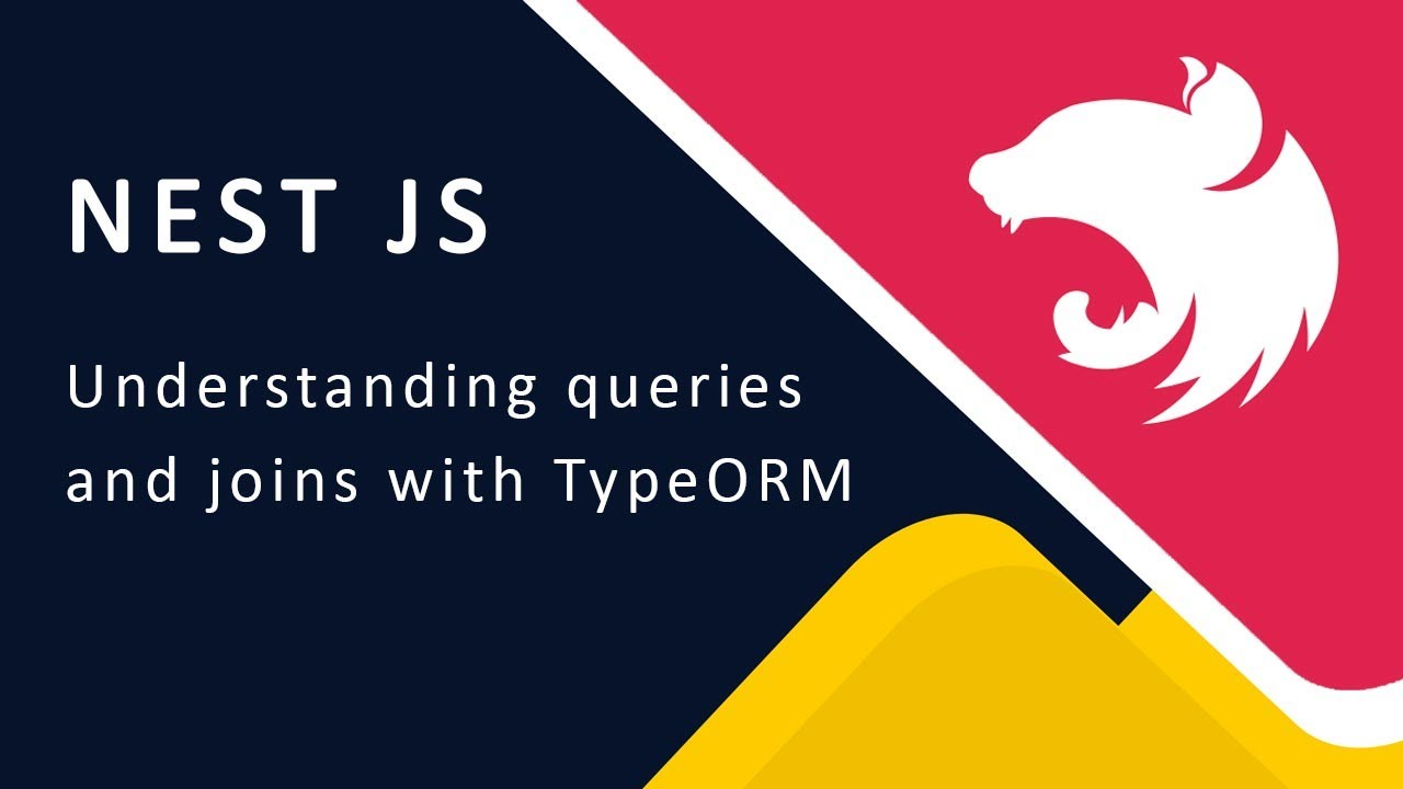 Loading Quiz with Questions - Query, Joins and Nested Relations in TypeORM 12
