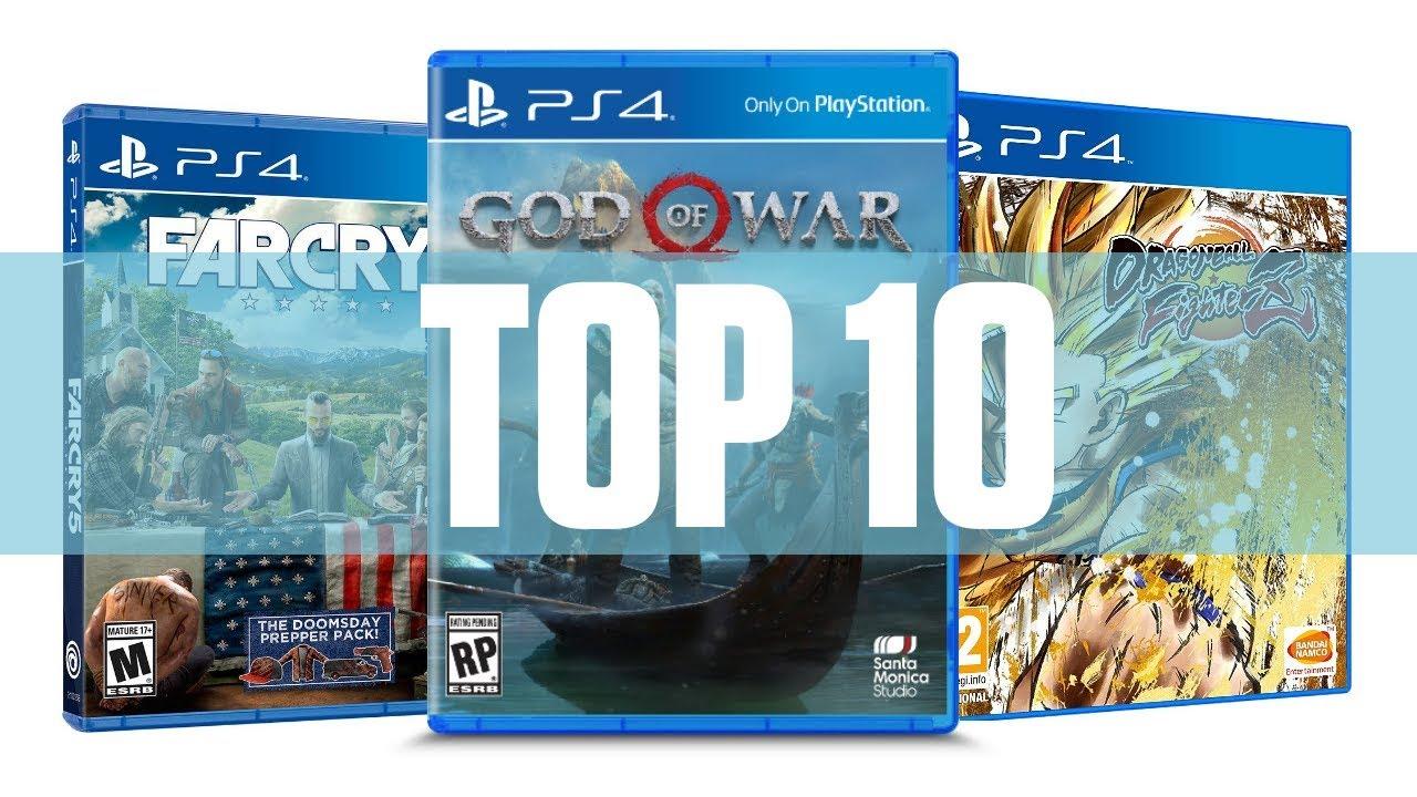 Top 10 Mejores Juegos Ps4 2018 Hasta Ahora Youtube