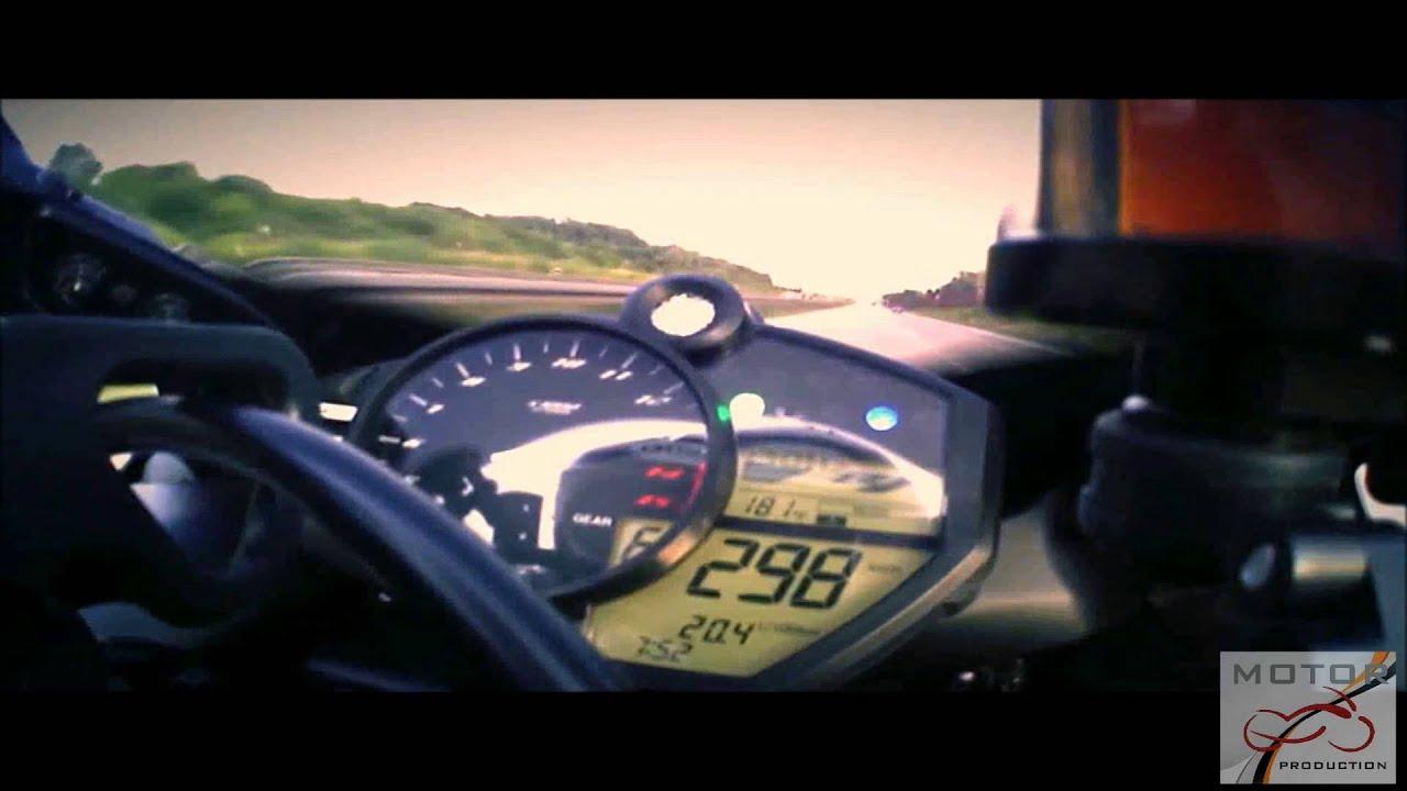Yamaha r1 turbo top speed 299 km h youtube for Yamaha r1 top speed