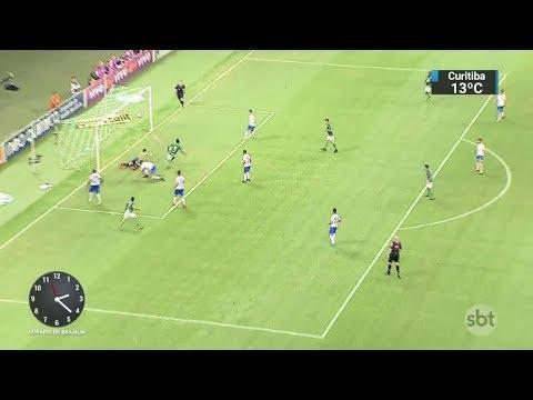 Palmeiras empata em casa e perde chance de encostar no Corinthians | SBT Notícias (31/10/17)