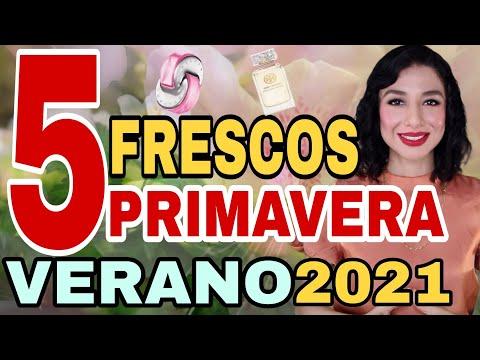 5 PERFUMES FRESCOS