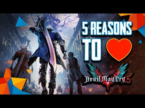 5 Reasons to Love Devil May Cry 5 for PC, PS4, Xbox One | G2A Review thumbnail