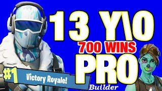 Pro 13 year old Fortnite live / VBUCKS GIVEAWAY TODAY / BEST PS4 Player // 701 wins