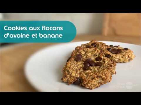 cookies-aux-flocons-d'avoine-&-banane