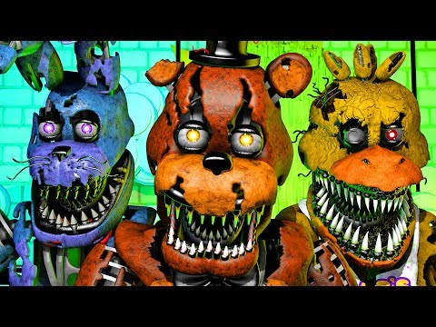 Five Nights at Freddy's Song (FNAF 4 SFM 4K)(Ocular Remix)